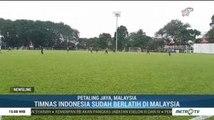 Timnas Gelar Latihan Perdana Jelang Lawan Malaysia
