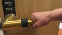 Skoon handle,  la poignée de porte qui se nettoie... toute seule
