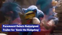 The Redesigned 'Sonic the Hedgehog'