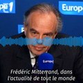 """EXCLUSIF - Frédéric Mitterrand défend Roman Polanski sur la nouvelle accusation de viol : """"Je n'y crois pas"""""""