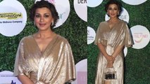 Sonali Bendre looks awesome at Global Spa Fit and Fab Awards;Watch video  | FilmiBeat