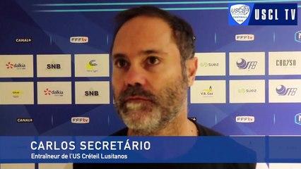 7e tour CDF Sarre Union-USCL : l'interview d'avant-match de Carlos Secretário