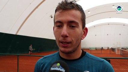 Corentin Denolly, l'Isrérois, porte désormais les coureurs du Tennis Club de Paris - #GoTCP