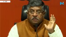 'Rahul Gandhi must apologise to the country' says Ravi Shankar Prasad on Rafale deal