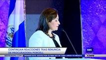Continúan reacciones tras renuncia de procuradora Porcell - Nex Noticias