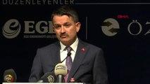 İzmir binali yıldırım ege ekonomik forum'a katıldı