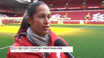 Liverpool FC Women Stars Thoughts Ahead Of  Women's Merseyside Derby!