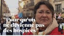 Pour sauver l'hôpital, une chef de service livre son cri de colère à la manifestation nationale