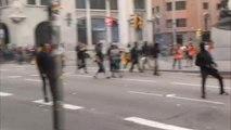 La Audiencia Nacional podría investigar como delitos de terrorismo la violencia callejera radical en Cataluña