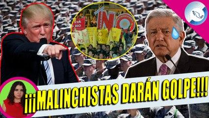 Trump Manda Infiltrado a México Para Quitar a AMLO De La Presidencia, Buscan Que Ejército Ayude