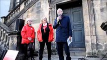 Jeremy Corbyn visiting Linlithgow and East Falkirk constituency on the General Election campaign