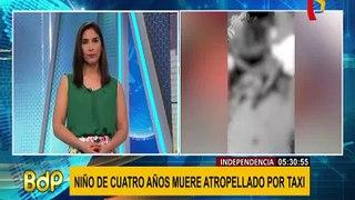 Niño atropellado en Independencia: zona es altamente transitada por escolares
