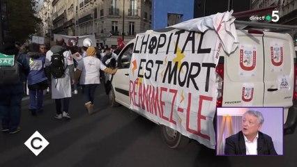 « L'hôpital public s'écroule » - C à Vous - 14/11/2019