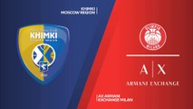 Khimki Moscow Region - AX Armani Exchange Milan Highlights | Turkish Airlines EuroLeague, RS Round 8