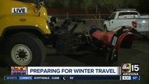 Preparing for winter in Arizona