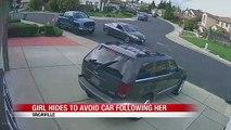 Une petite fille réussi à se cacher et à échapper à des kidnappeurs en voiture