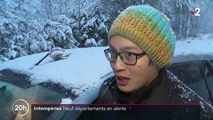 Drôme : les déplacements des automobilistes compliqués par la neige