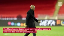 French striker Thierry Henry named head coach of Montreal Impact