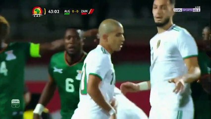 Algérie 5 – 0 Zambie : Tous les buts du match