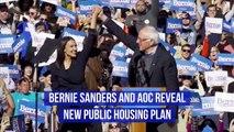 Bernie Sanders and AOC Reveal New Public Housing Plan