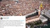 Declarado el estado de emergencia en Venecia