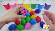 Learn Colours With egg and Candy-- Fun Learing--