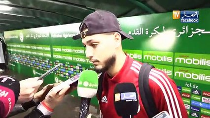 Algérie – Zambie : Déclarations des joueurs après le match