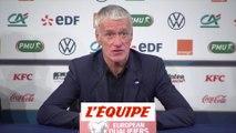 Deschamps «Giroud est utile et efficace» - Foot - Bleus