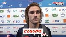 Griezmann «Le coach a sû nous rebooster» - Foot - Bleus