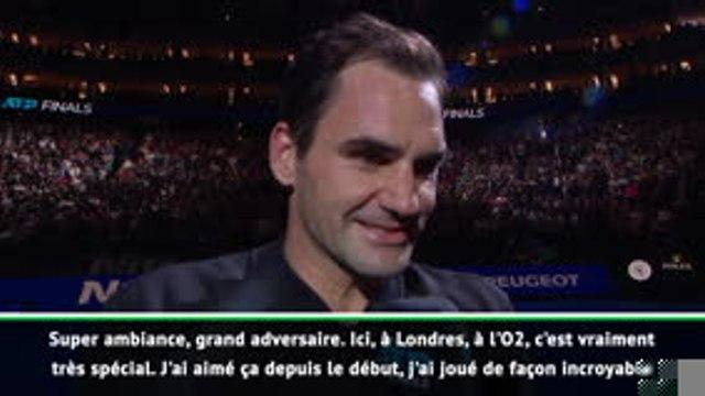 """Masters - Federer : """"J'ai joué de façon incroyable"""""""