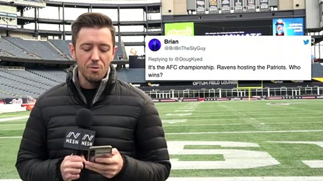 Patriots Mailbag: Can Patriots Win AFC Championship If It's At Ravens?