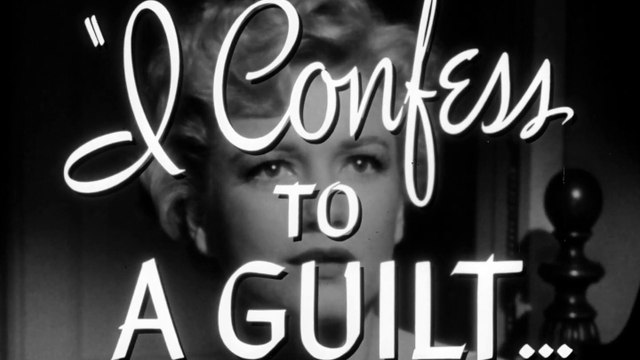 I Confess movie  trailer - Montgomery Clift, Anne Baxter, Karl Malden