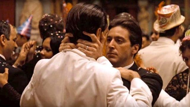 The Godfather 2 movie (1974) Al Pacino, Robert Duvall, Diane Keaton