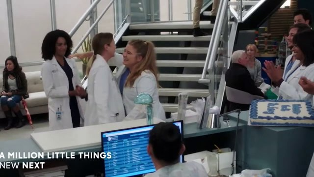 Grey's Anatomy S16E09 Let's All Go to the Bar