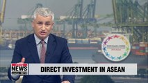 S. Korea, China, and Japan account for 25% of total direct investment in ASEAN in 2018