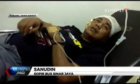 Laka Maut Tol Cipali, Sopir Bus Sinar Jaya Bantah Mengantuk