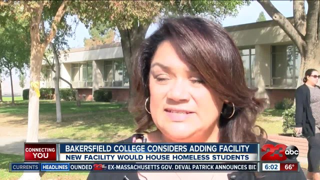 Bakersfield College considers adding facility for homeless students
