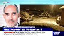 """Le directeur de la communication d'Enedis annonce que """"la tempête de neige a privé 200.000 foyers d'électricité"""""""