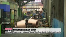 """Finance Ministry omits word """"sluggish"""" from its monthly green book"""