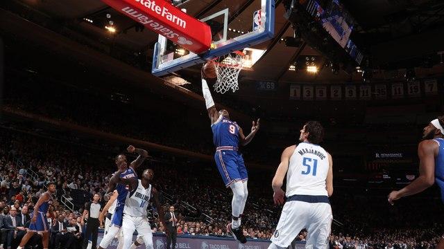 NBA - Top 10 : RJ Barrett fait rugir le Garden !