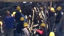 Gaziantep'te cami inşaatında çöken iskelenin altında kalan inşaat mühendisi aranıyor (2)
