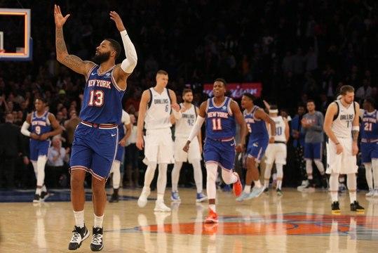NBA - Porzingis hué, les Knicks transcendés (VF)