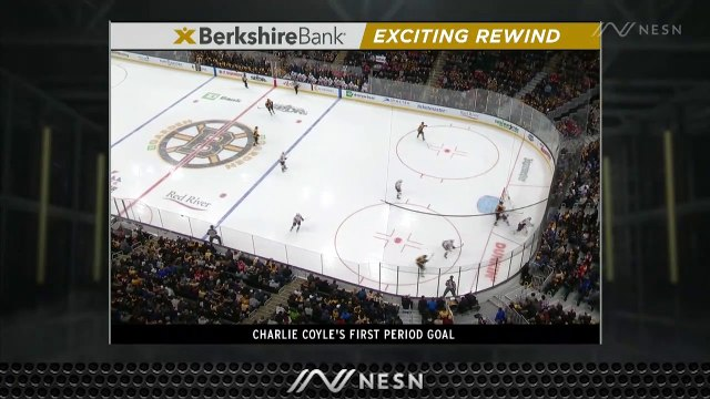 Danton Heinen's Heads Up Play Helps Lead To Charlie Coyle's Early Goal