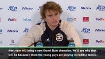 Zverev tips new Grand Slam champion next year