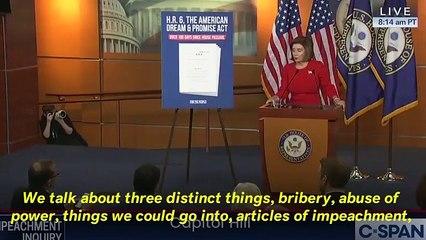Nancy Pelosi 'Trolls' Trump By Defining 'Exculpatory' During Briefing