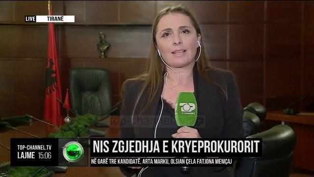 Nis zgjedhja e kryeprokurorit/ Në garë tre kandidatë, Arta Marku, Olsian Çela dhe Fatjona Memçaj