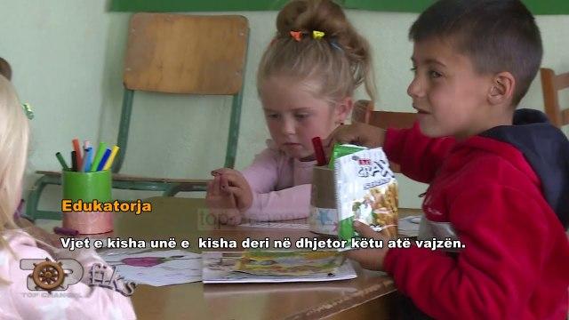 Fiks Fare/ Rakicka, fshati i braktisur,kopështi me 4 fëmijë