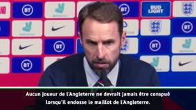 "Angleterre - Southgate : ""Gomez n'a absolument rien fait de mal"""