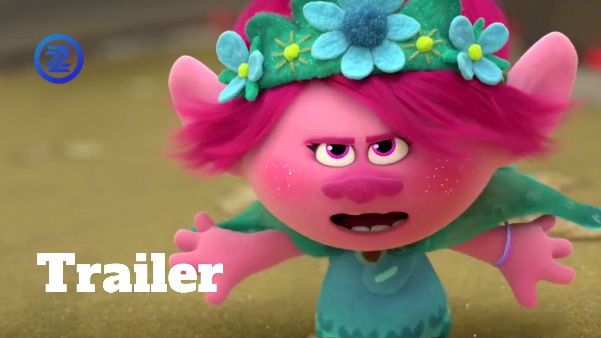 Trolls World Tour Trailer #2 (2020) Anna Kendrick, Sam Rockwell Animated Movie HD