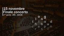 Finale Concerto Concours Long-Thibaud-Crespin 2019 (1ère partie)